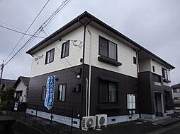 岡山県倉敷市北畝5の賃貸アパートの外観