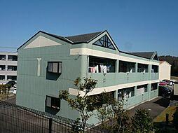 愛知県岡崎市洞町字向山の賃貸アパートの外観