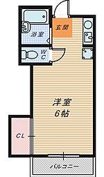 大阪府和泉市和田町の賃貸アパートの間取り