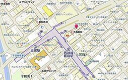 URBビルの案内図