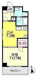 コンフォート関町II[2階]の間取り
