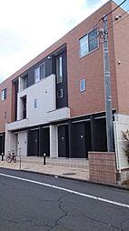 東京都青梅市河辺町6の賃貸アパートの外観