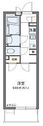 東武東上線 東武練馬駅 徒歩15分の賃貸マンション 3階1Kの間取り