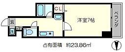永澤金港堂ビル[7階]の間取り