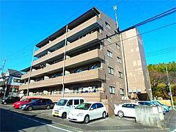 東京都八王子市鑓水2丁目の賃貸マンションの外観