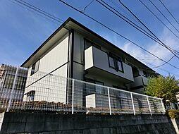 東京都練馬区高松2丁目の賃貸アパートの外観
