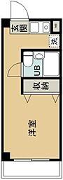 ロイヤルメドウ[3階]の間取り