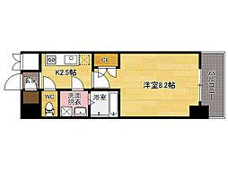 アクタス桜坂レノア[8階]の間取り