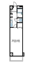 神奈川県綾瀬市小園の賃貸マンションの間取り