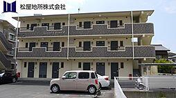 愛知県豊橋市東幸町字水神の賃貸マンションの外観