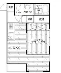アスペックI[2階]の間取り