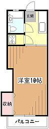古屋レジデンス[2階]の間取り