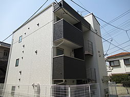 東京都大田区仲池上2丁目の賃貸アパートの外観