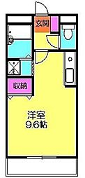 パレットハイム[2階]の間取り