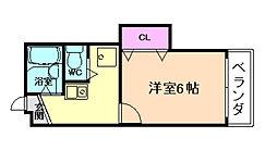 シャトーセイコー[2階]の間取り