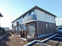 茨城県筑西市西谷貝の賃貸アパートの外観
