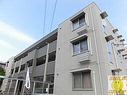 千葉県市川市湊新田1丁目の賃貸アパートの外観