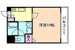 プリンスパーク2[7階]の間取り