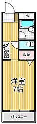 NAO三ノ瀬[3階]の間取り