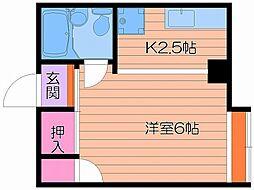 小川ハイツ[5階]の間取り