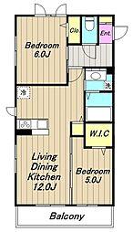 (仮)D-room中央[1階]の間取り