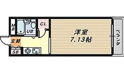 エクセルガーデン堺[2階]の間取り