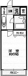 クリオ宮前平弐番館[4階]の間取り