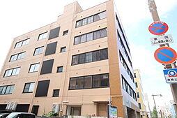新潟県新潟市中央区東中通1番町の賃貸マンションの外観