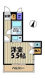 クリオ本郷台壱番館[1階]の間取り