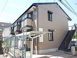 兵庫県神戸市中央区東川崎町6丁目の賃貸アパートの外観