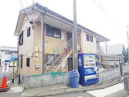 東京都日野市西平山5の賃貸アパートの外観