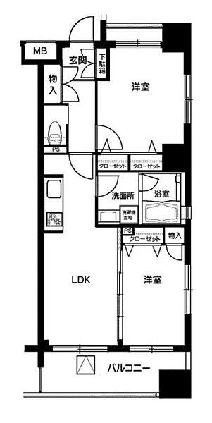 L-Flat板橋本町[2階]の間取り