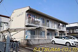 徳島県徳島市末広2丁目の賃貸アパートの外観