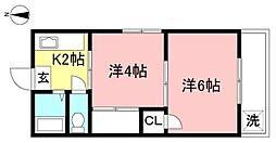 南大沢駅 4.0万円