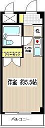 シャテロ狛江[302号室]の間取り