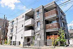 大阪府池田市綾羽1丁目の賃貸アパートの外観