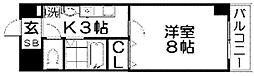 サンライズ大和田[3階]の間取り