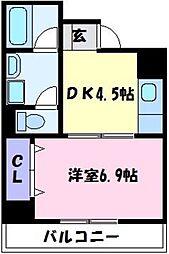 SNTハウス[3階]の間取り