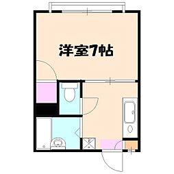 シェルコート飯倉弐番館[102号室]の間取り