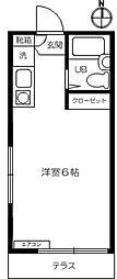フジハウスI[1階]の間取り