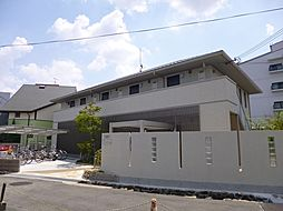 大阪府池田市井口堂1丁目の賃貸アパートの外観