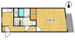 エンゼル33[2階]の間取り