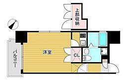 エステート・モア・天神倶楽部[10階]の間取り