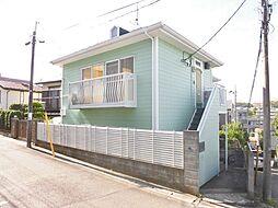 神奈川県横浜市旭区笹野台2の賃貸アパートの外観