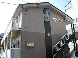 岐阜県岐阜市長良校前町5丁目の賃貸アパートの外観