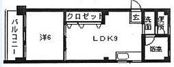 柴田コーポ[503号室]の間取り