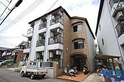 大阪府枚方市中宮東之町の賃貸アパートの外観