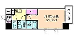 コンフォリア京町堀[5階]の間取り