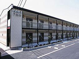 愛知県豊田市西中山町猿田の賃貸アパートの外観