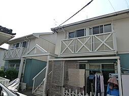 コーポホワイトD棟[1階]の外観